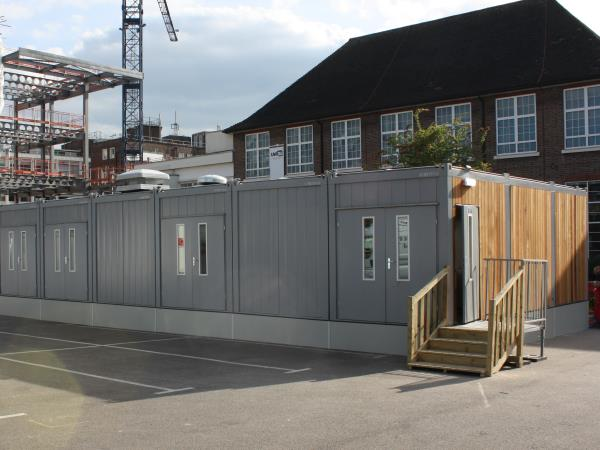 Modex - Modular temporary kitchens, London